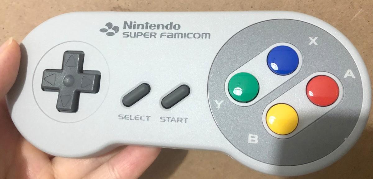Switch用スーパーファミコンコントローラー