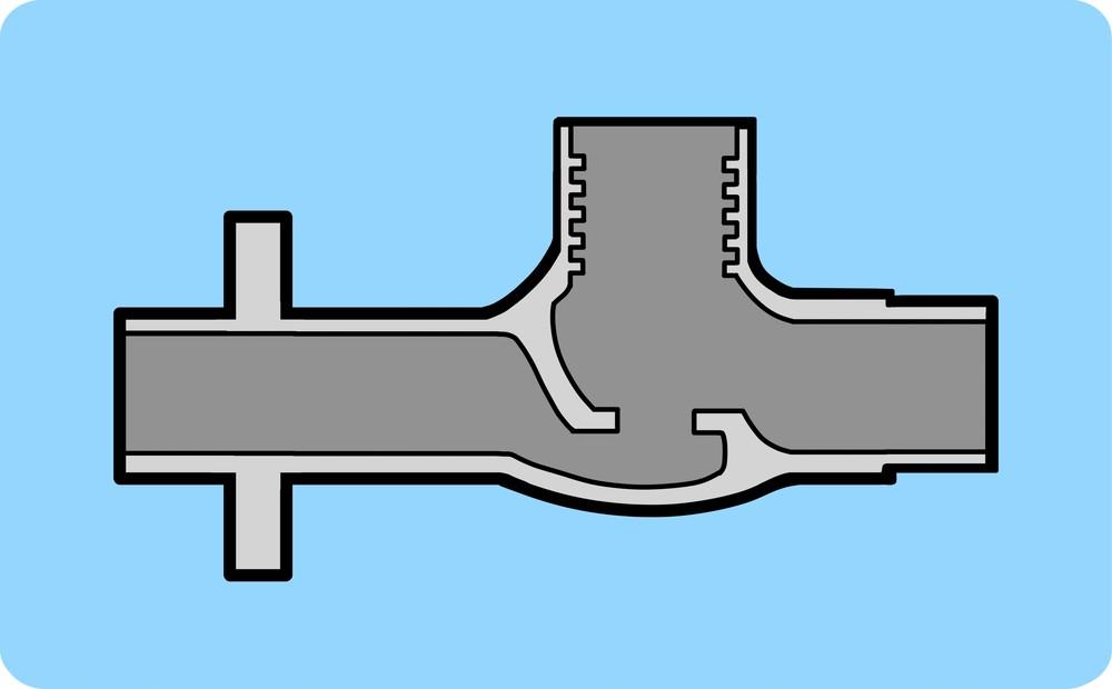 水道の蛇口の接続部中身