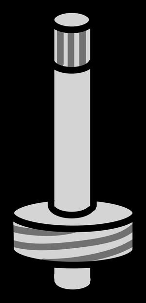 イラストフリー素材 蛇口 スピンドル