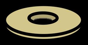 イラストフリー素材 蛇口 座金