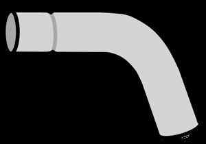 イラストフリー素材 蛇口 パイプ