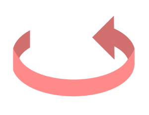 イラストフリー素材 蛇口 矢印4