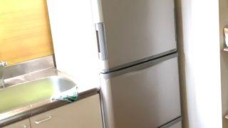 中古冷蔵庫 設置 横