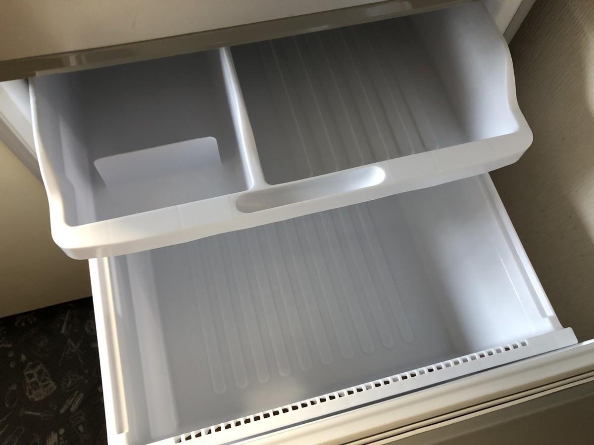 中古冷蔵庫の冷凍室