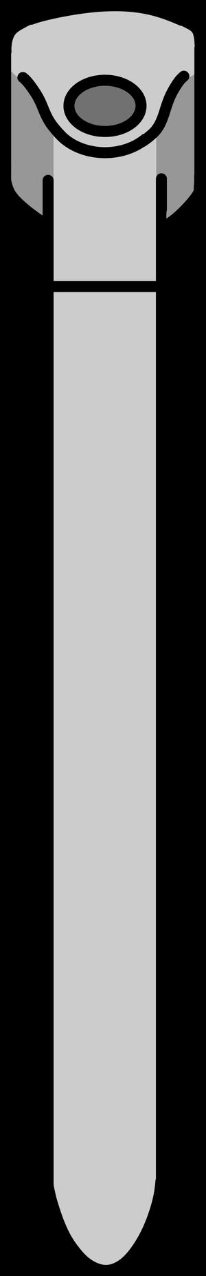 イラストフリー素材 ハンドルステム