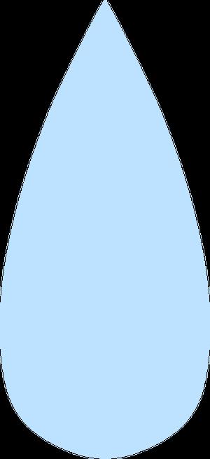 イラストフリー素材 水