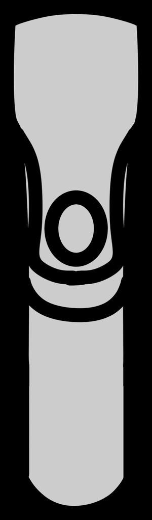 イラストフリー素材 ハンドルステム(上)