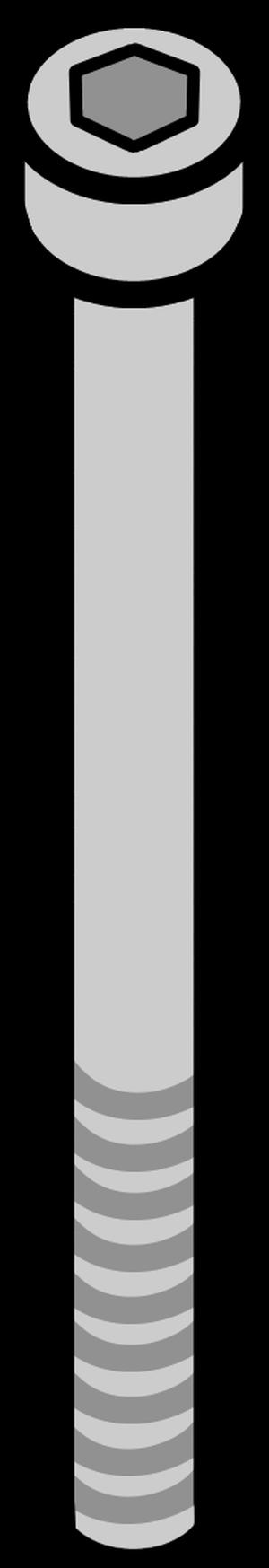 イラストフリー素材 引き上げボルト