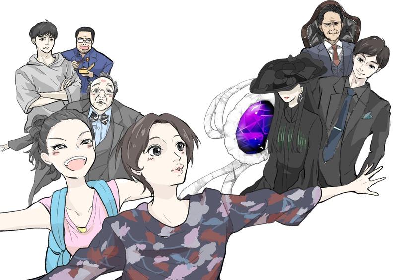 【お絵描き感想】コンフィデンスマンJPロマンス編(背景無し)