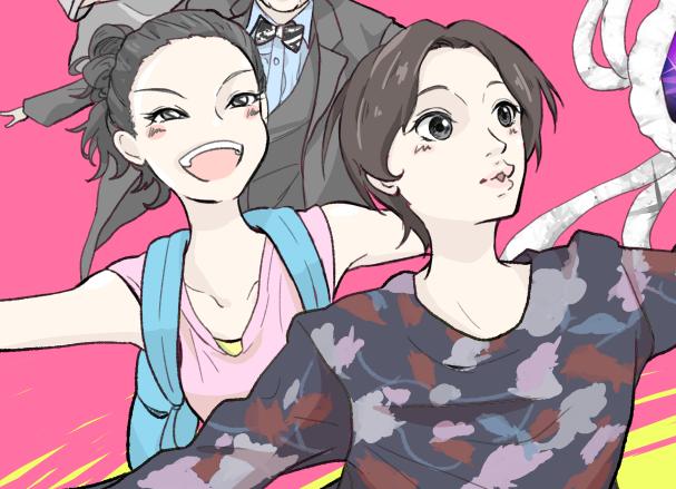【お絵描き感想】コンフィデンスマンJPロマンス編 ダー子とモナコ