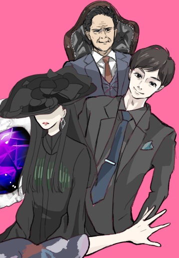 【お絵描き感想】コンフィデンスマンJPロマンス編 ランとジェシーと赤星