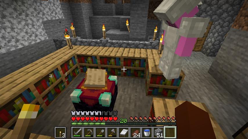 Minecraft(マイクラ)初めてのエンチャント