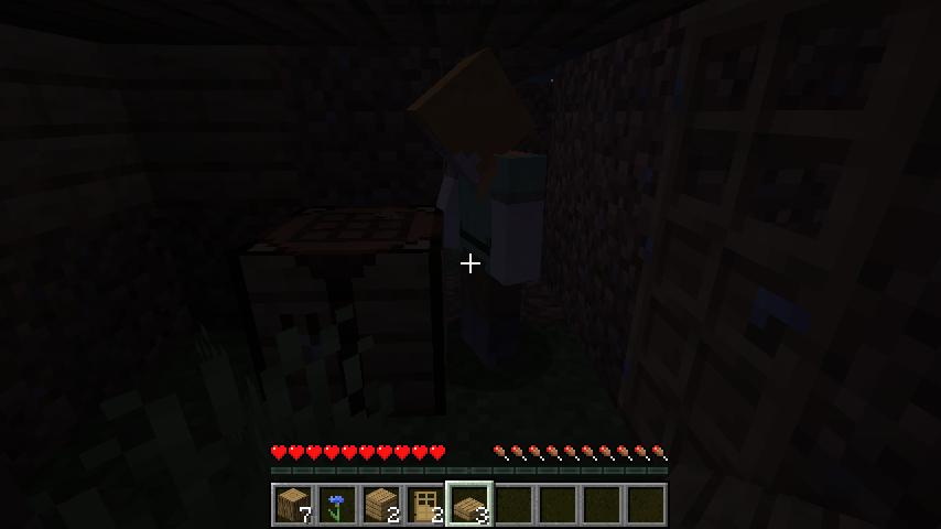 Minecraft(マイクラ)作業台を使いにくるぶーぶー