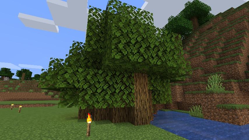 Minecraft(マイクラ)ぶーぶーの木が生えた
