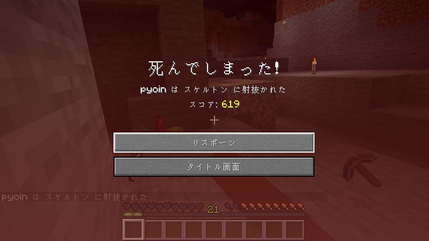 Minecraft(マイクラ)初デス