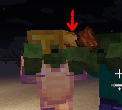 Minecraft(マイクラ)ゾンビのジャガイモ