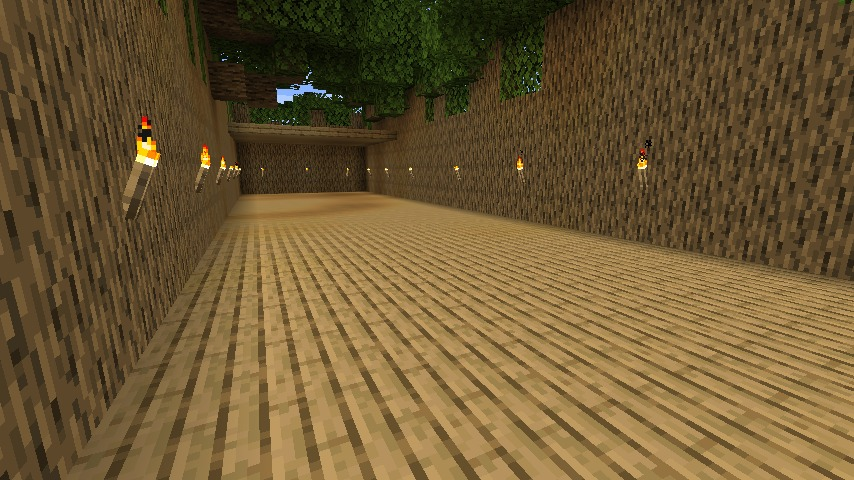 Minecraft(マイクラ)木の壁ハウス5