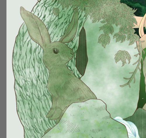 メイキング『木人(コビト)』木肌1