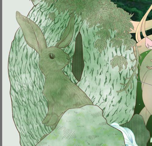 メイキング『木人(コビト)』木肌2