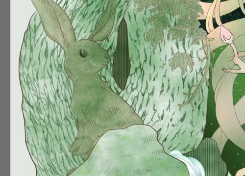 メイキング『木人(コビト)』木肌3