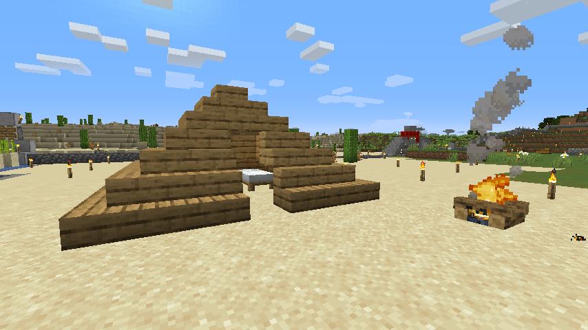 Minecraft(マイクラ)ハードコアキャンプ場