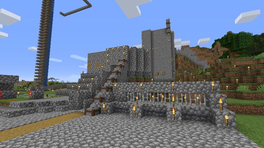 Minecraft(マイクラ)丸石拠点season4