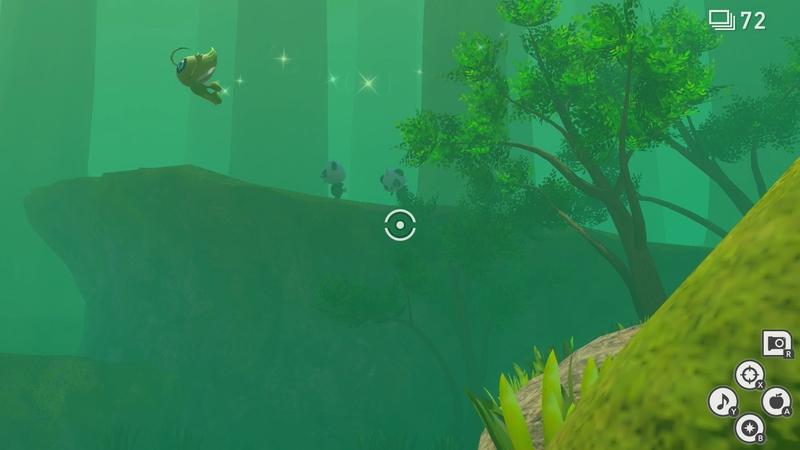 第3段階 池の前に飛んでくるセレビィ