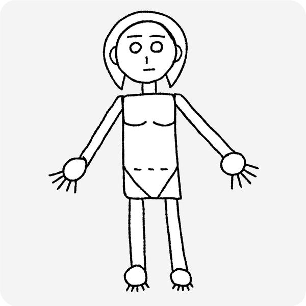 人体の認識 ステップ3
