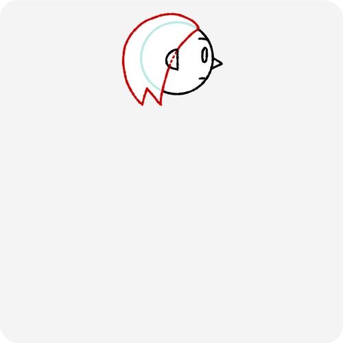人体の認識 横面 髪の生え際